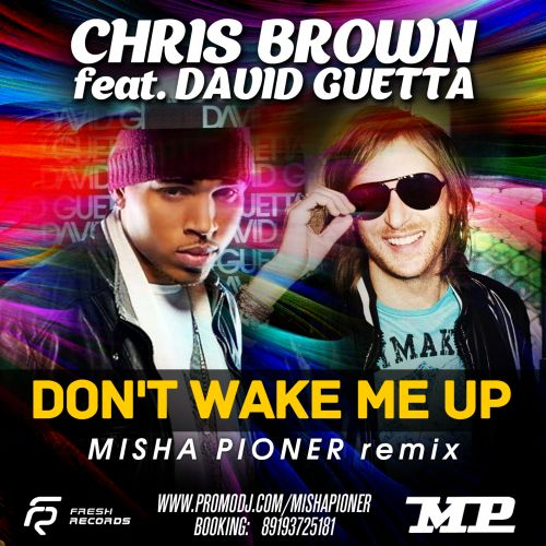 Chris Brown feat. David Guetta - Don't Wake Me Up (Misha Pioner Remix) [2013]