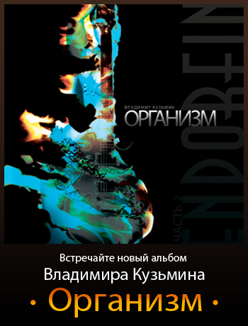 Владимир Кузьмин - Организм (ENDorFin часть 2) Альбом [2013]