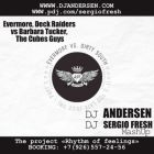Evermore, Deck Raiders vs Barbara Tucker, The Cubes Guys - Its Too Late (Dj Sergio Fresh, Dj Andersen MashUp) [2013]