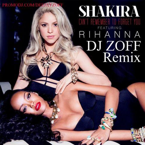 Shakira feat. Rihanna - Can't Remember To Forget You (DJ Zoff Remix) [2014]