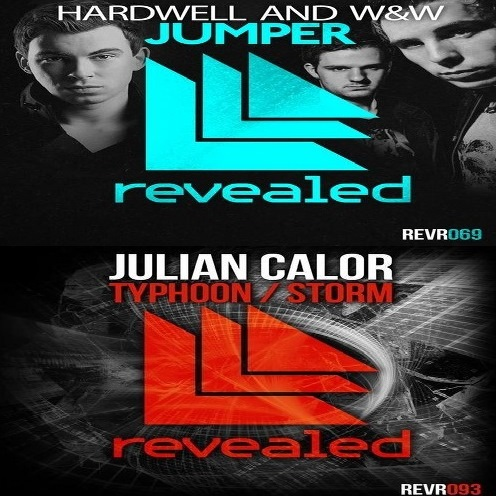 Hardwell, W&W, Julian Calor - Jumper Typhoon (Anton Slim Mash-Up) [2014]
