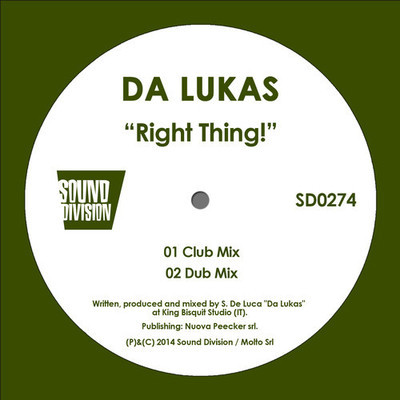 Da Lukas - Right Thing! (Club Mix) [2014]