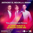 Dj Denis Rublev & Dj Anton feat. Anthony El Mejor - You Will Never Know (Cover; Syntheticsax Mix's) [2014]