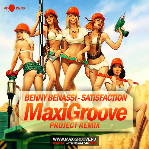Benny Benassi - Satisfaction (MaxiGroove Project Remix)