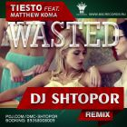 Tiesto feat. Matthew Koma - Wasted (Dj Shtopor Remix) [2015]