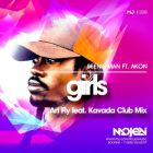 Beenie Man feat. Akon - Girls (Art Fly feat. Kavada Club Mix) [2015]