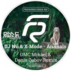 DJ Nil & X-Mode - Animals (DMC Mikael & Denis Zubov Remix) [2015]