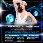 DJ Snake feat. AlunaGeorge vs Dj Zhukovsky & Dj Flight - You Know You Like It (DJ Sunrise & Dj Gerc Mash Up) [2016]
