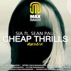 Sia feat. Sean Paul - Cheap Thrills (Max Maikon Remix; Radio Edit) [2016]