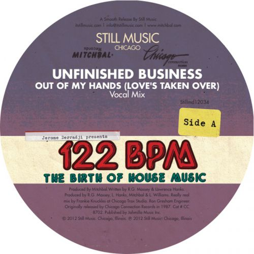 Unfinished Business & Omni - Out of My Hands (Love's Taken Over) [2012]