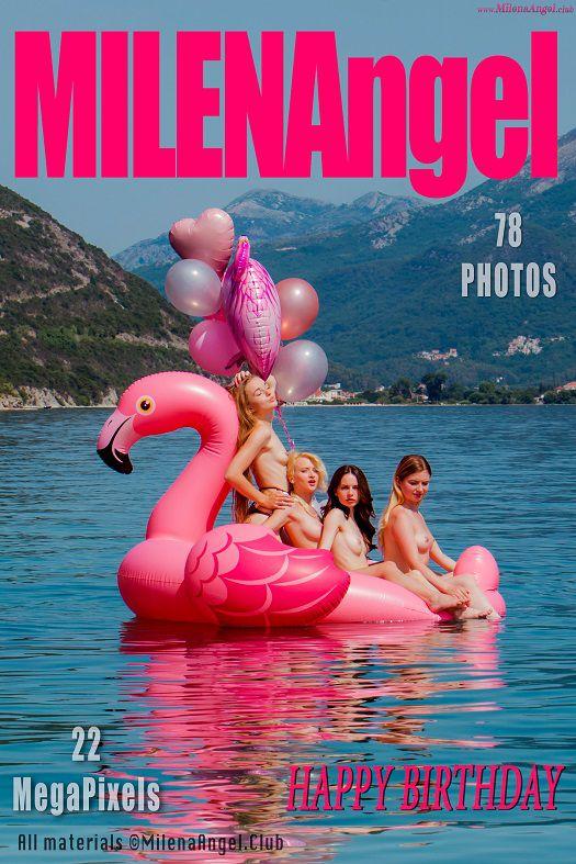 Milena Angel & Nika & Amy & Krystal - Happy BirthDay (2018-07-10)