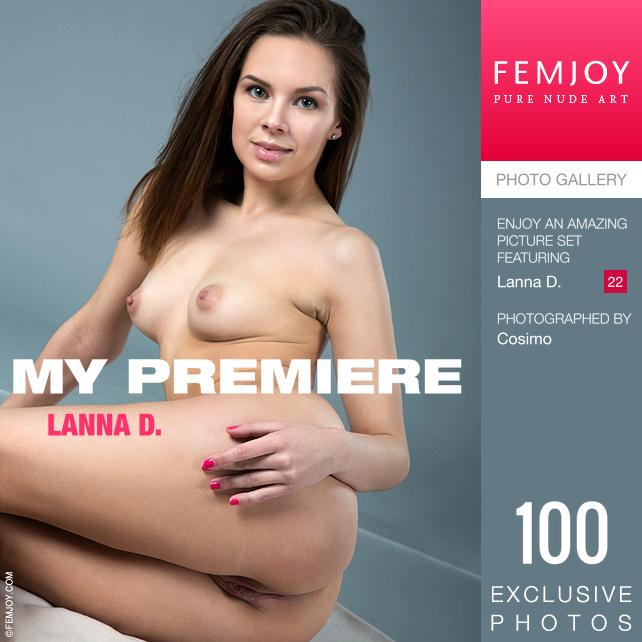 Lanna D. - My Premiere - x100 - 5000px - Sep 12, 2018