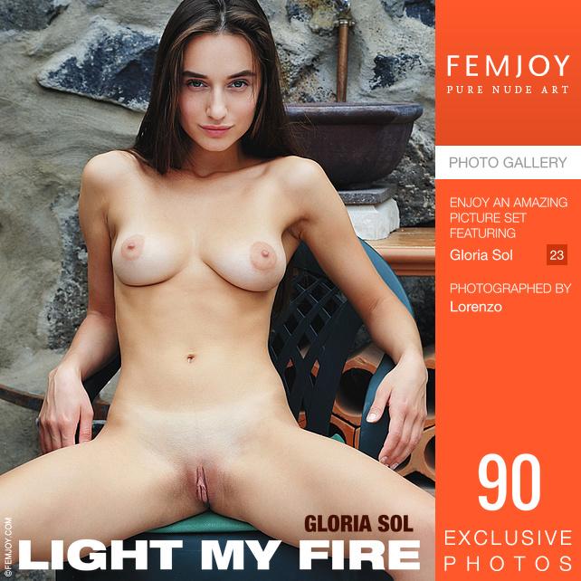 Gloria Sol - Light My Fire - x90 - 5000px - Sep 14, 2018