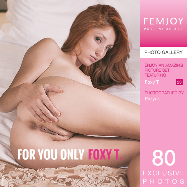Foxy T - For You Only 2016-01-01