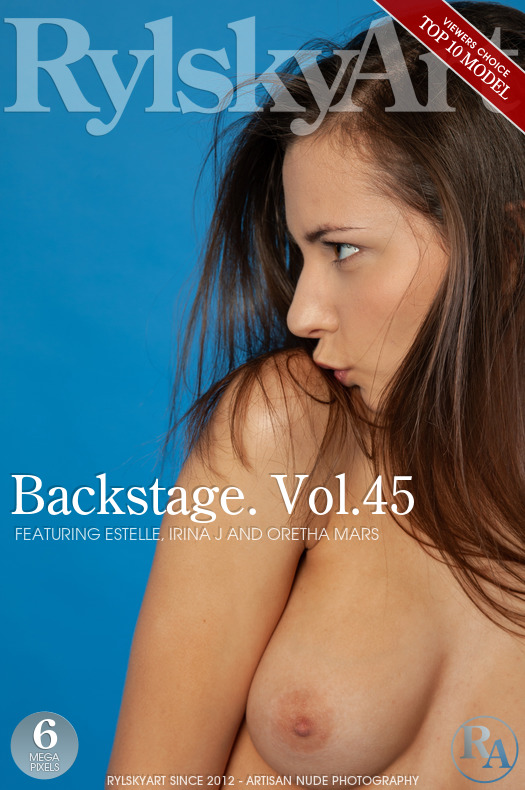 Estelle & Irina J & Oretha Mars - Backstage Vol 45 2018-10-02