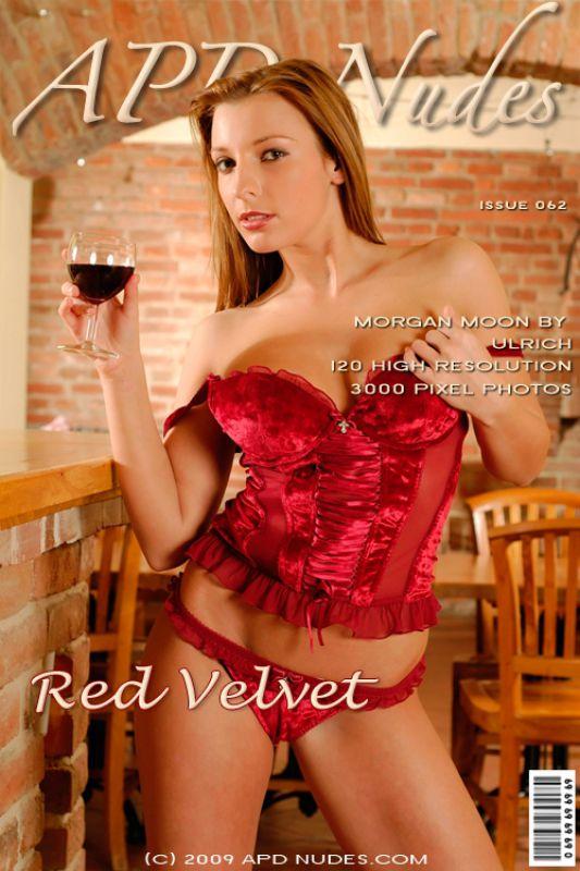 Morgan Moon- Red Velvet - 120 images
