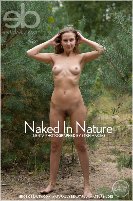 Lenta Naked - In Nature - x64 - 6016px (21 Oct, 2018)