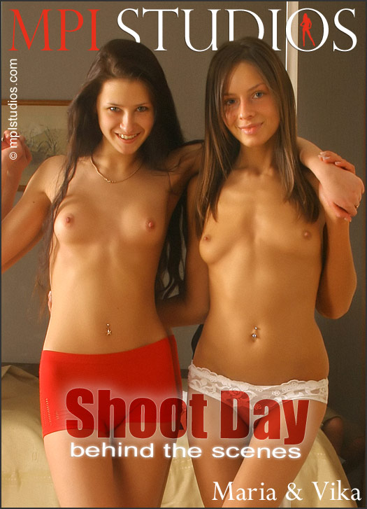 Vika & Maria - Shoot Day Behind the Scenes 2008-01-05