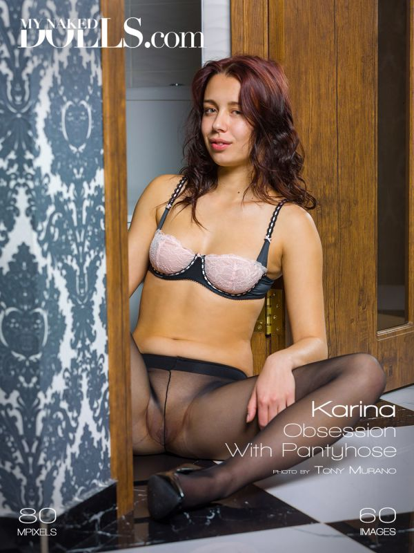 Karina - Obsession with pantyhose (16-11-2018)
