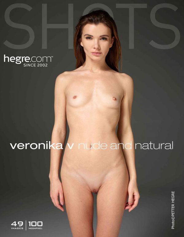 Veronika V - Nude And Natural (17-11-2018)