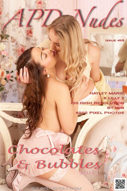 Hayley Marie & Lilly S-Chocolates & Bubbles-P1 - 100 images