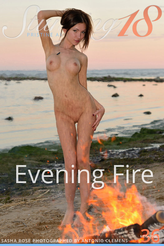 Sasha Rose - Evening Fire x138