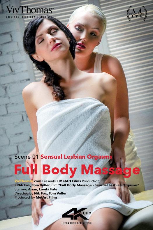 Arian & Lovita Fate - Full Body Massage - Sensual Lesbian Orgasms 2018-11-28