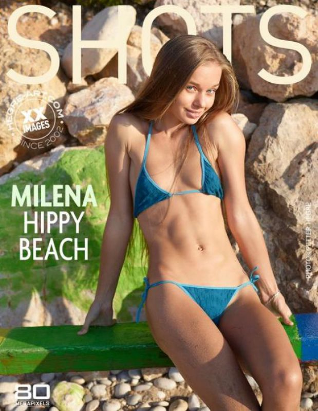 Milena - Hippy Beach - 58 images