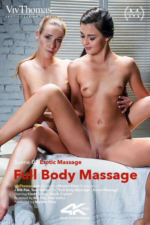 Alexis Crystal & Cindy Shine - Full Body Massage - Erotic Massage 2018-12-05