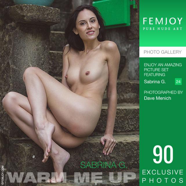 Sabrina G. - Warm Me Up - x90 - 5000px - Dec 18, 2018