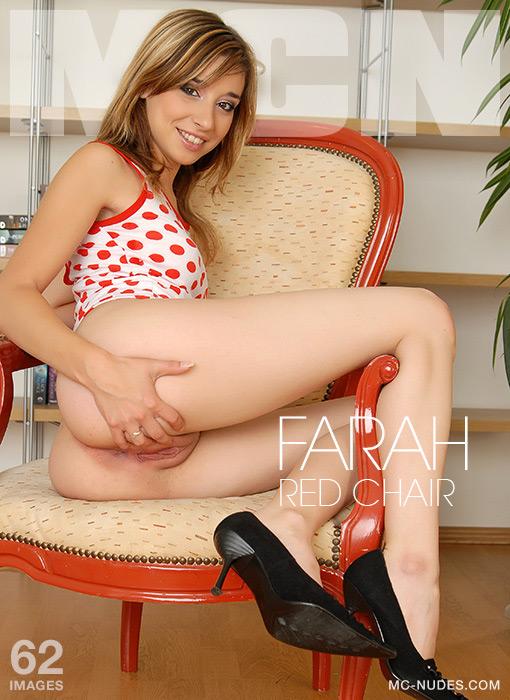 Farah - Red Chair
