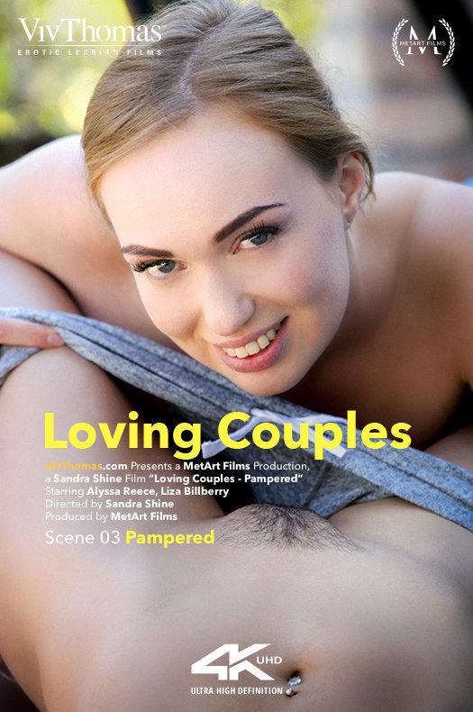 Alyssa Reece & Liza Billberry - Loving Couples - Pampered 2019-01-25