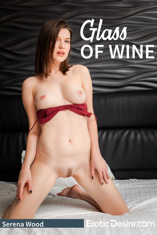 Serena Wood Glass Of Wine 124 pics - Jan 26, 2019