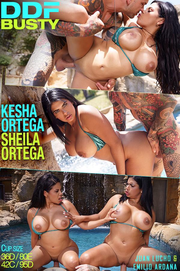 Kesha Ortega, Sheila Ortega - Curvy Twins Double Fuck 27 Jan, 2019