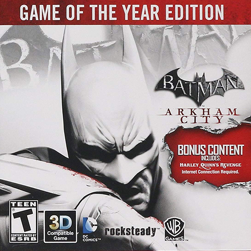 Batman: Arkham City - Game of the Year Edition (2012/RUS/ENG/RePack by xatab)