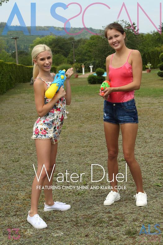 Cindy Shine & Kiara Cole - Water Duel 2019-02-09