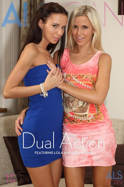 Gina Devine & Lola - dual action (x351)