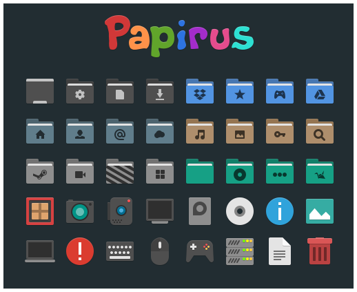 Papirus Icon Pack