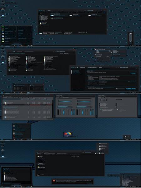 Visage - Тема для Windows 10