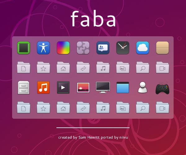 Faba Icon Pack