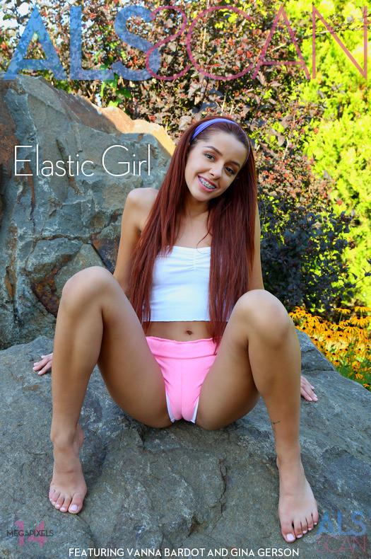 Gina Gerson & Vanna Bardot - Elastic Girl 2019-04-08