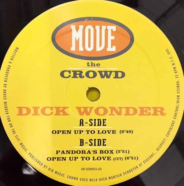 Dick Wonder - Pandora's Box, Open Up To Love [1997]