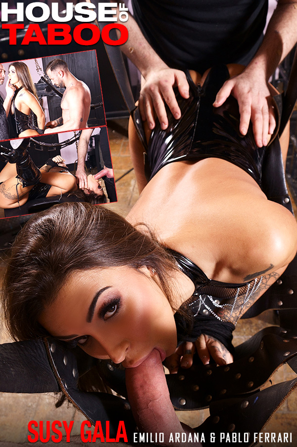 Susy Gala - Threesome in a Dungeon 23 Apr, 2019