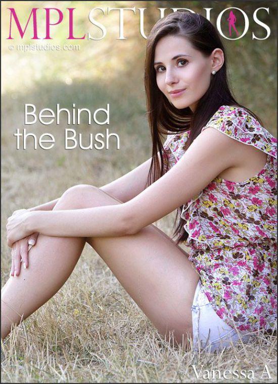 Vanessa A - Behind the Bush (x69)