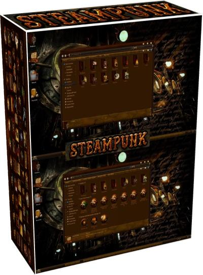 Steampunk Theme Set