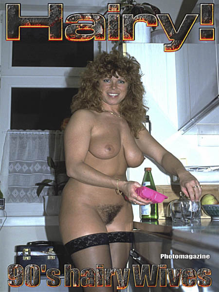 Hairy Wives from the 90's Adult Photomagazine
