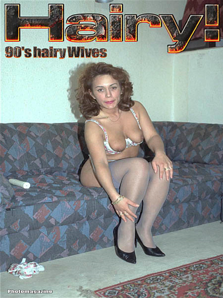 Hairy Wives from the 90's - №5 2018