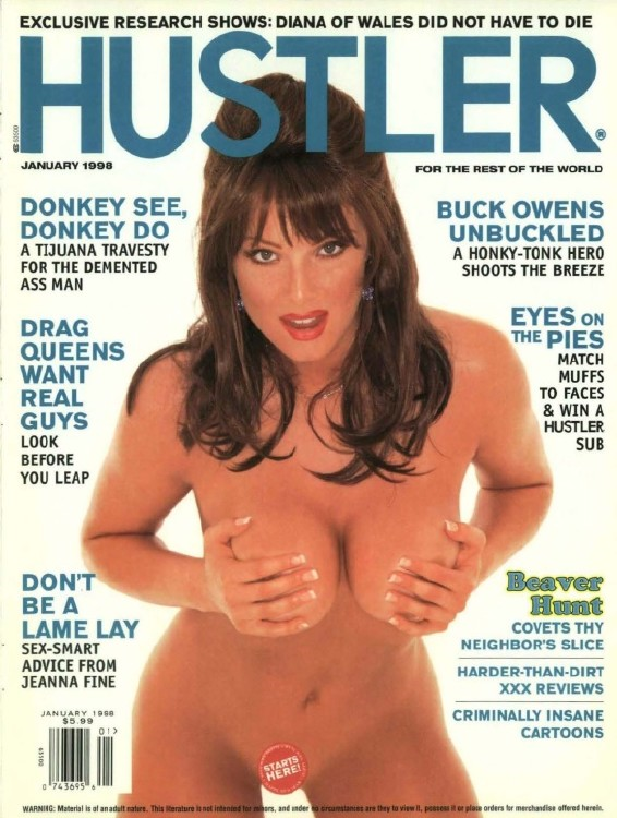 Hustler USA - January 1998
