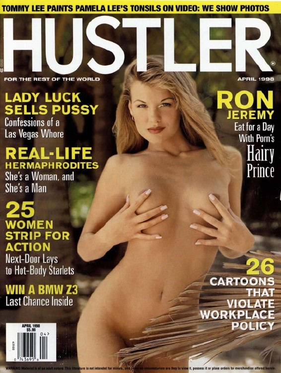 Hustler USA -  April 1998