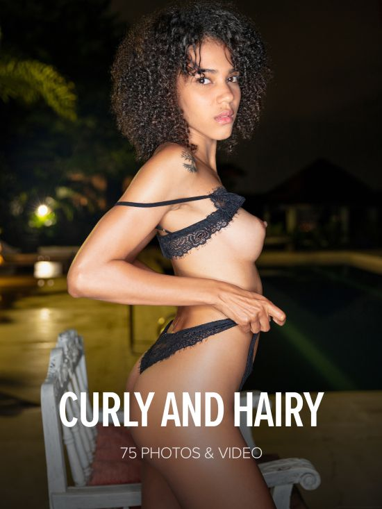 Abril - Curly and Hairy (2019-05-21)